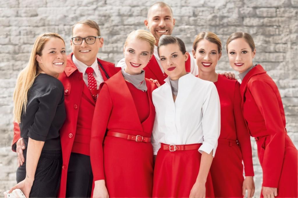 Neue Austrian Airlines Uniform