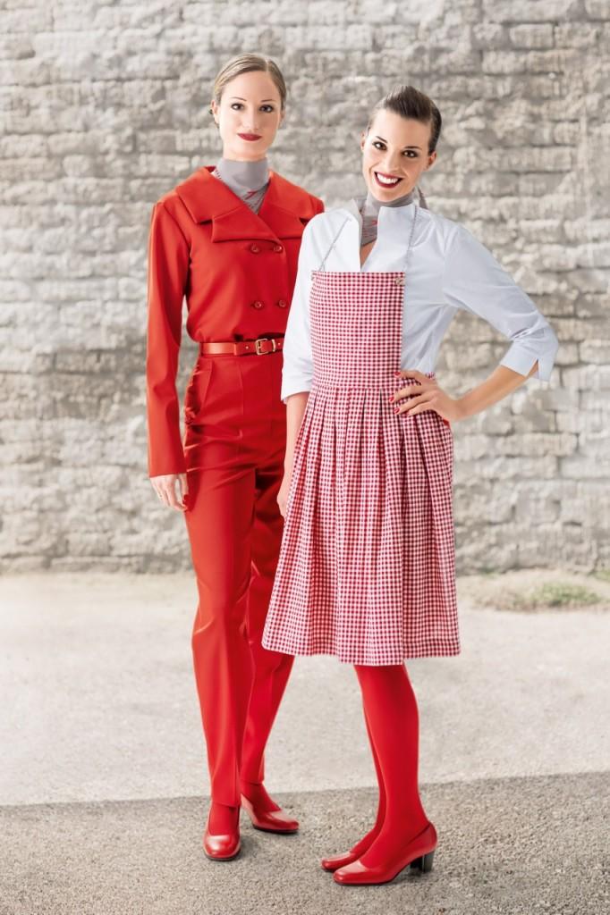 Austrian Airlines Uniform - Marina Hoermanseder 4