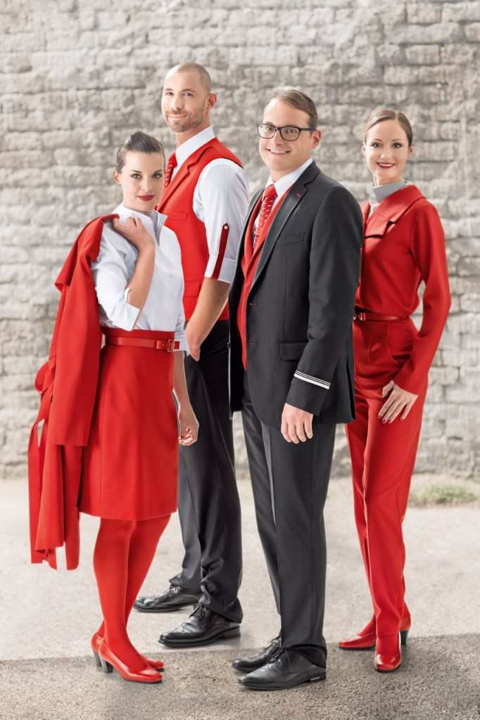 Austrian Airlines Uniform - Marina Hoermanseder 7